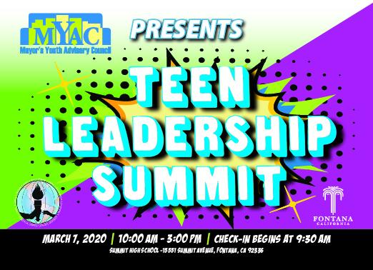 MYAC Teen Leadership Summit
