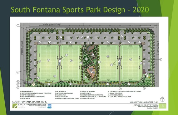 South Fontana Sports Park