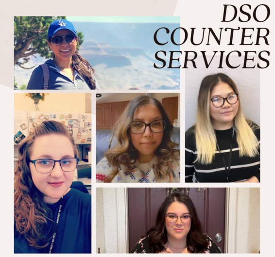 DSO Employee Spotlight Recipients