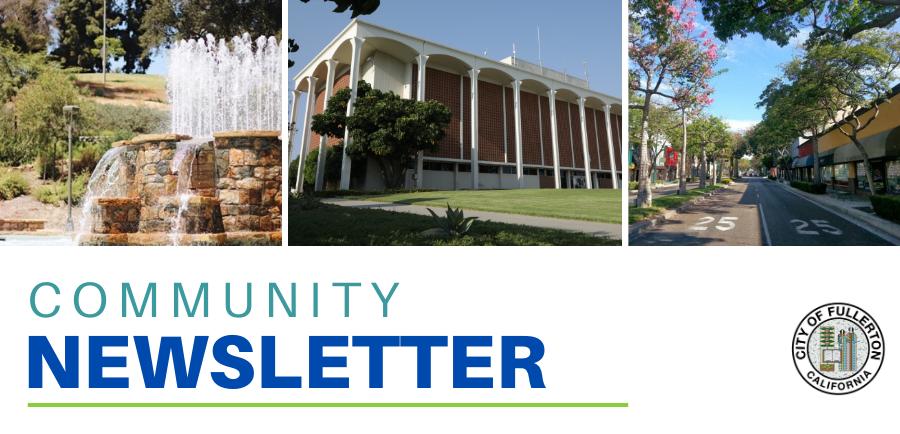 Fullerton Community Newsletter