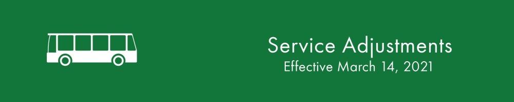 Service Adjustments