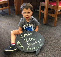 Library - 1000 Books Before Kindergarten
