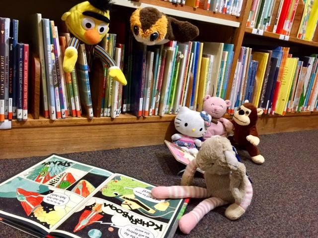 Library_Stuffed Animal Sleepover