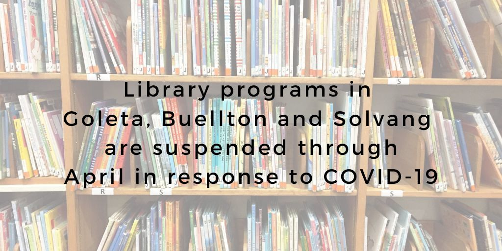 Library Programs Suspended - long