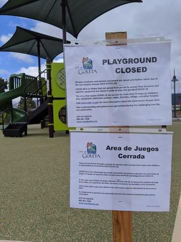 COVID-19 Playground Closure Sign_Spanish
