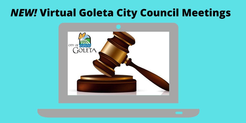Virtual City Council Meetings Graphic