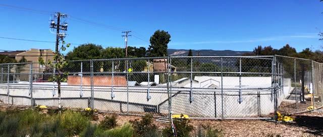 Skatepark Fencing