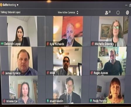 May 5, 2020, Virtual Council Meeting