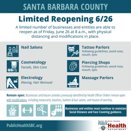 SB County Limited Reopening