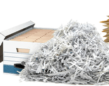 Paper shred