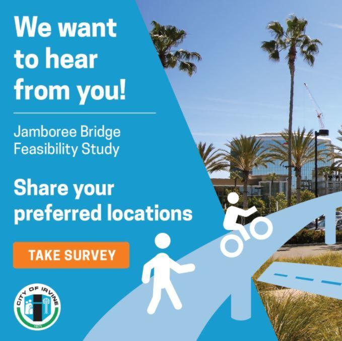 Jamboree Pedestrian Bridge