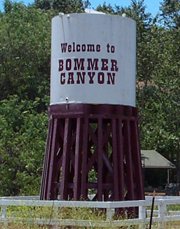 Bommer Canyon Cattle Camp