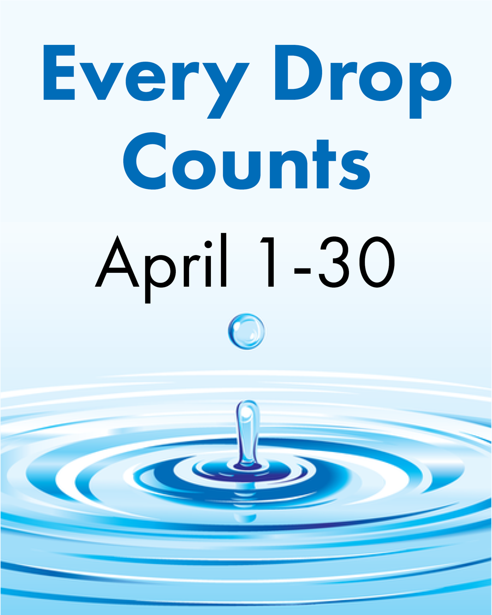 Water Conservation Challenge