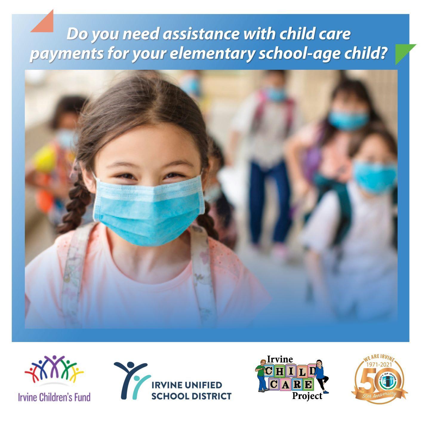 Irvine Child Care Scholarships