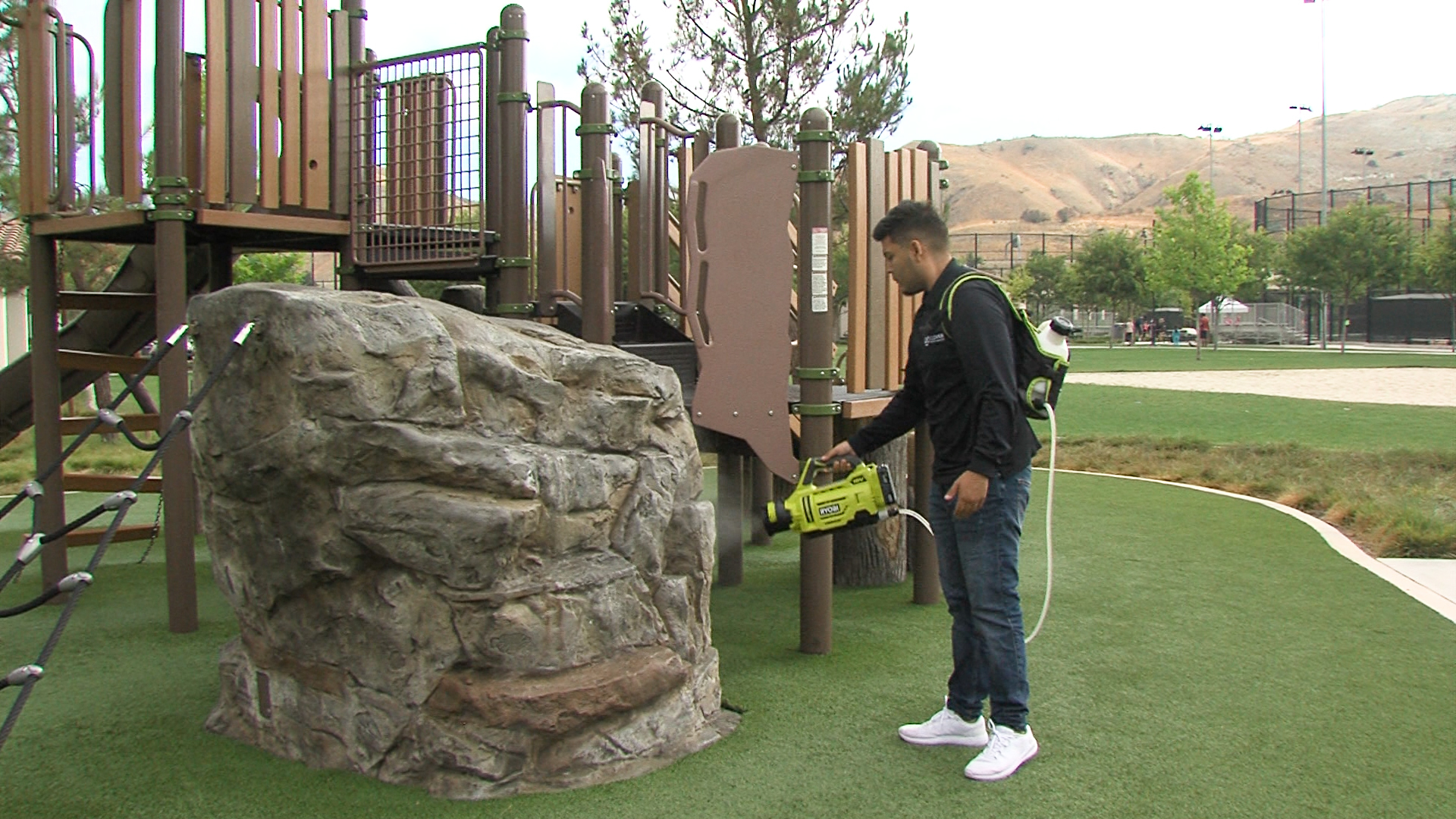 Playground Sanitization