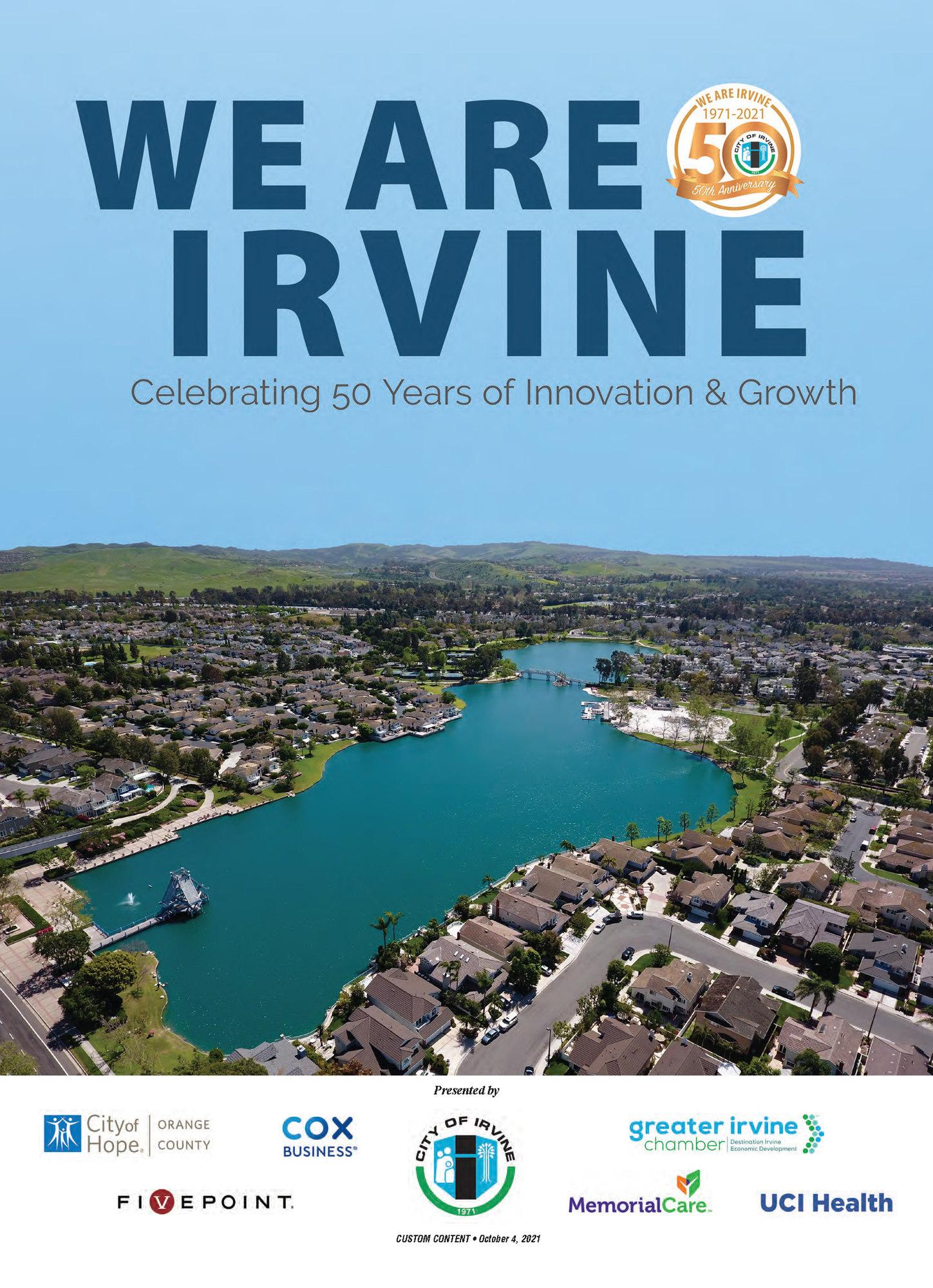 We Are Irvine OCBJ