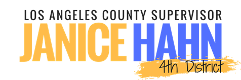 Logo for Supervisor Janice Hahn