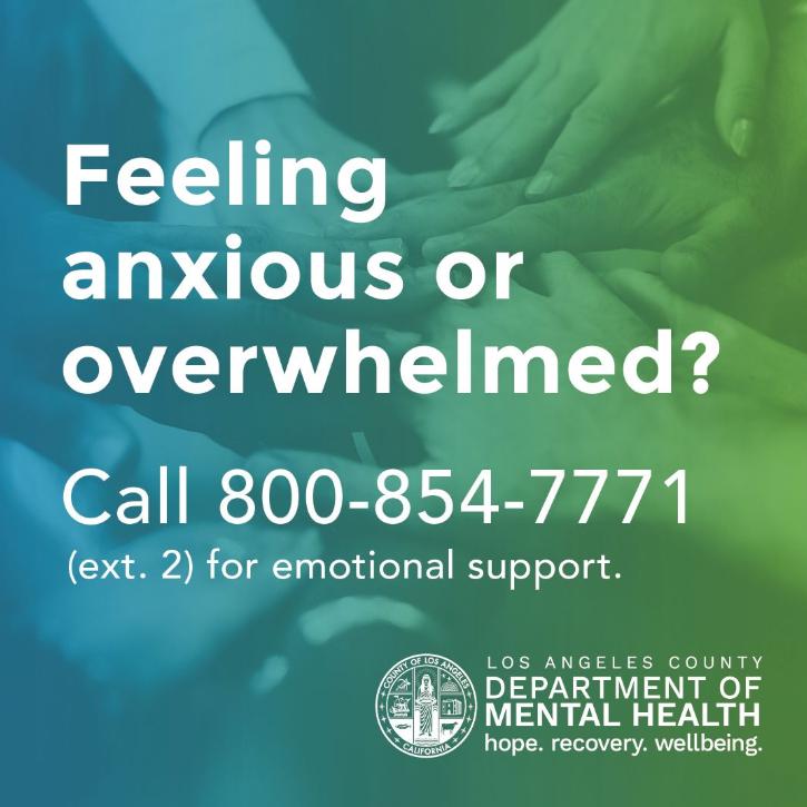 DMH Helpline Services