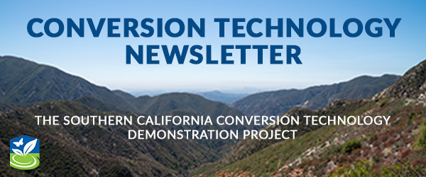 Header graphic for Southern California Conversion Technology newsletter