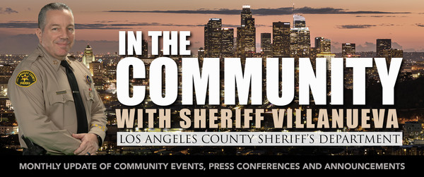 In the Community with Sheriff Villaneuva