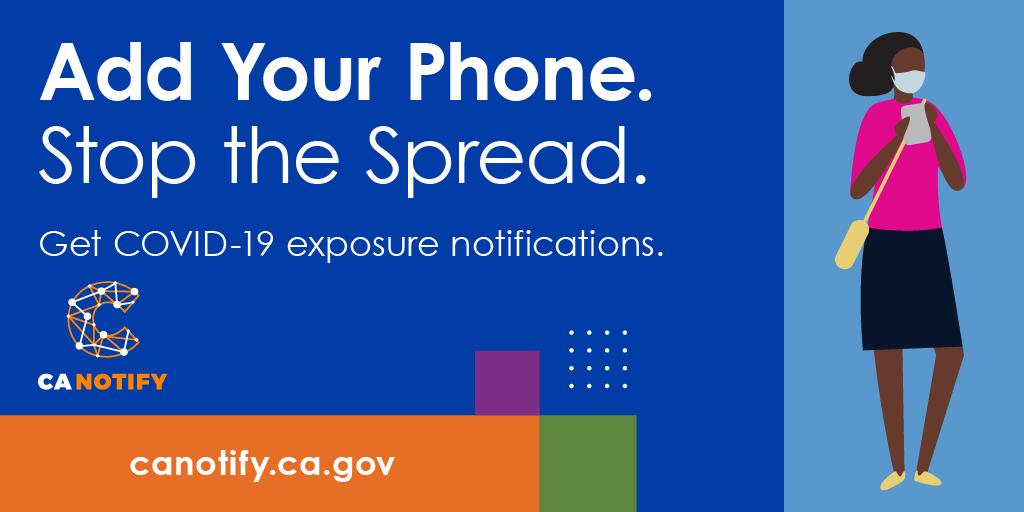 CA Notify Stop the spread