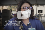 Lily, an ICU Nurse Manager at LAC+USC