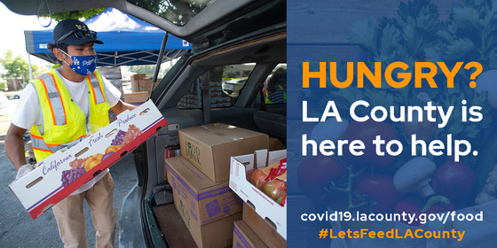 Food resources for all.  covid19.lacounty.gov/food