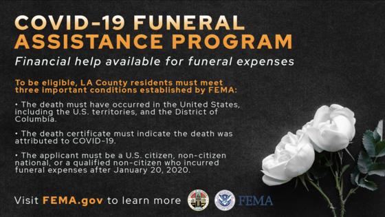 FEMA Funeral Assisstance