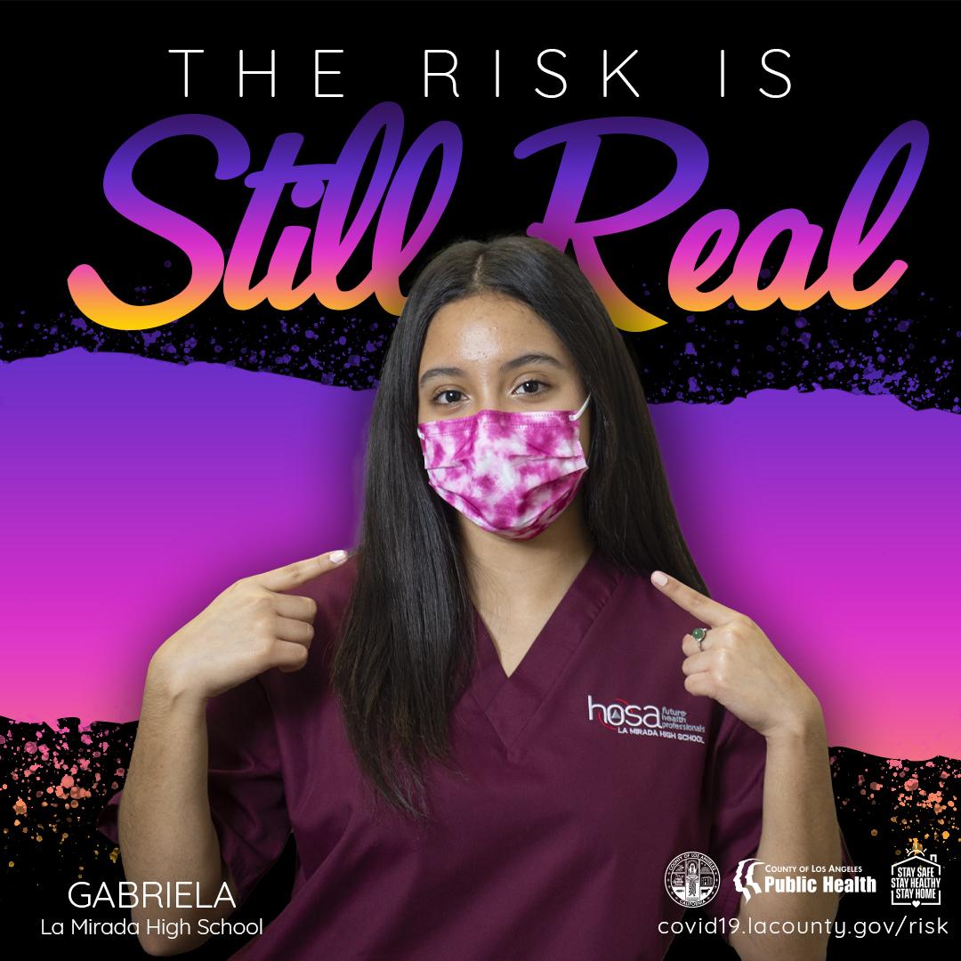 the risk is still real Gabriella