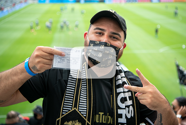 LAFC Vaccination Section