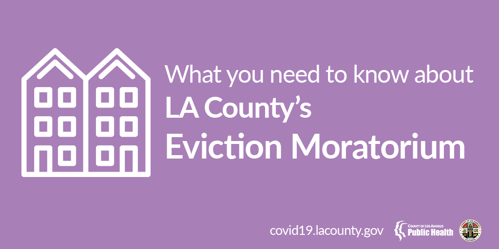 Extended Eviction Moratorium