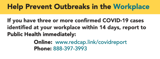 prevent outbreaks