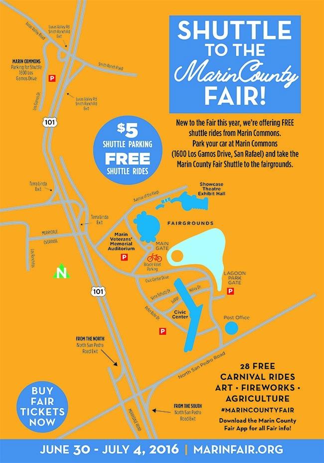 Shuttle to the Marin County Fair