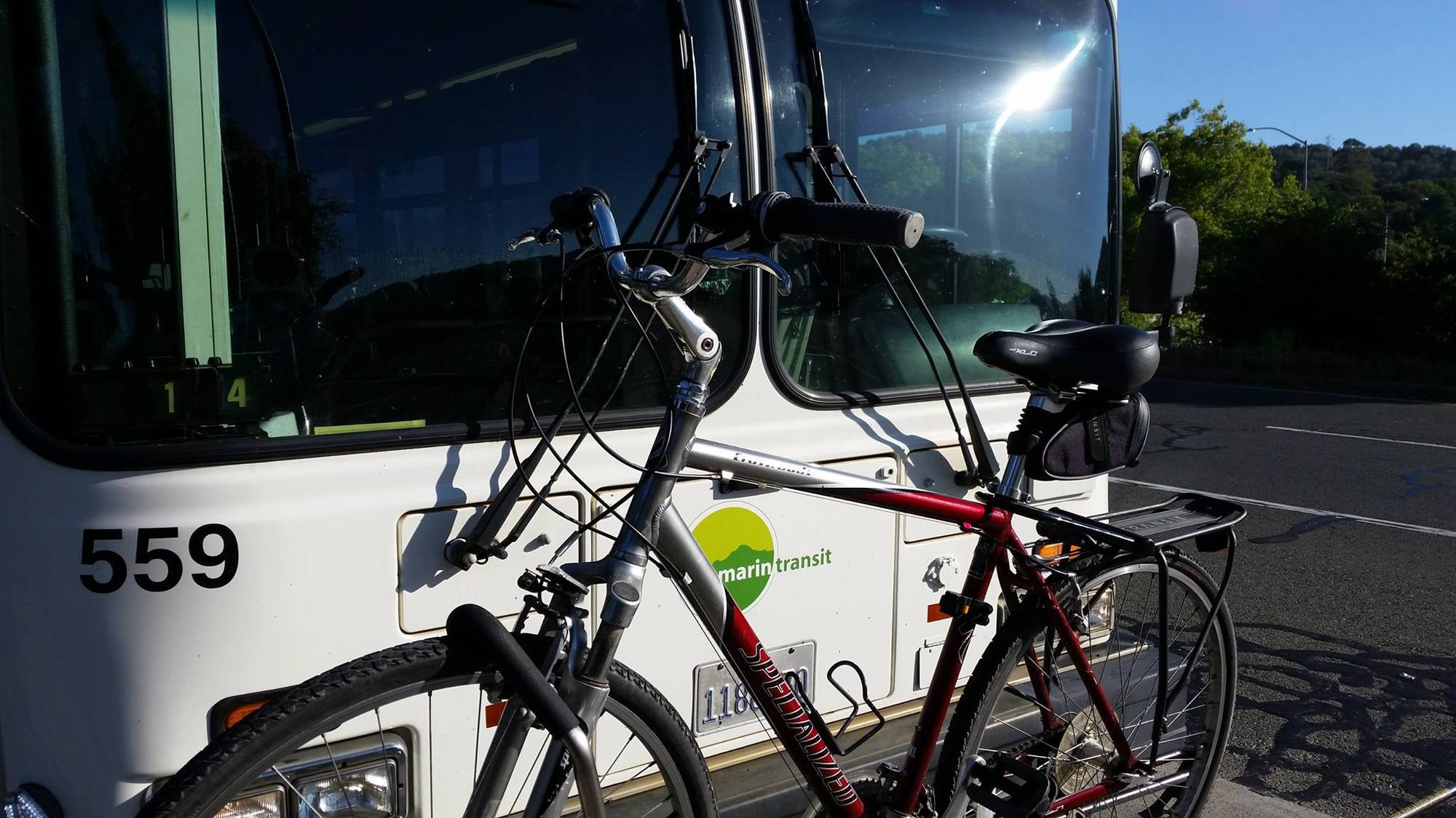 Bike on Marin Transit