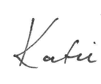 Katie Signature