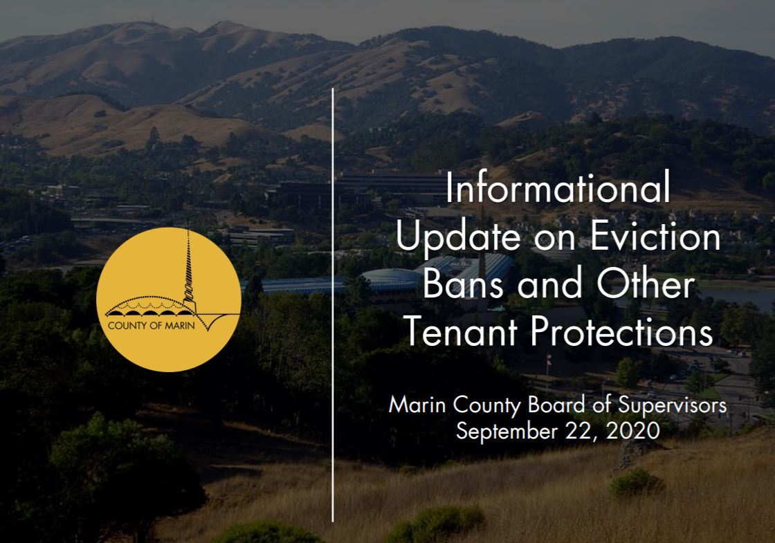 Informational Update on Eviction Bans and Other Tenant Protections