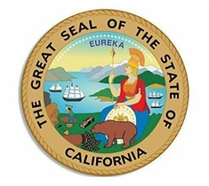 A picture of the Seal of the State of California.