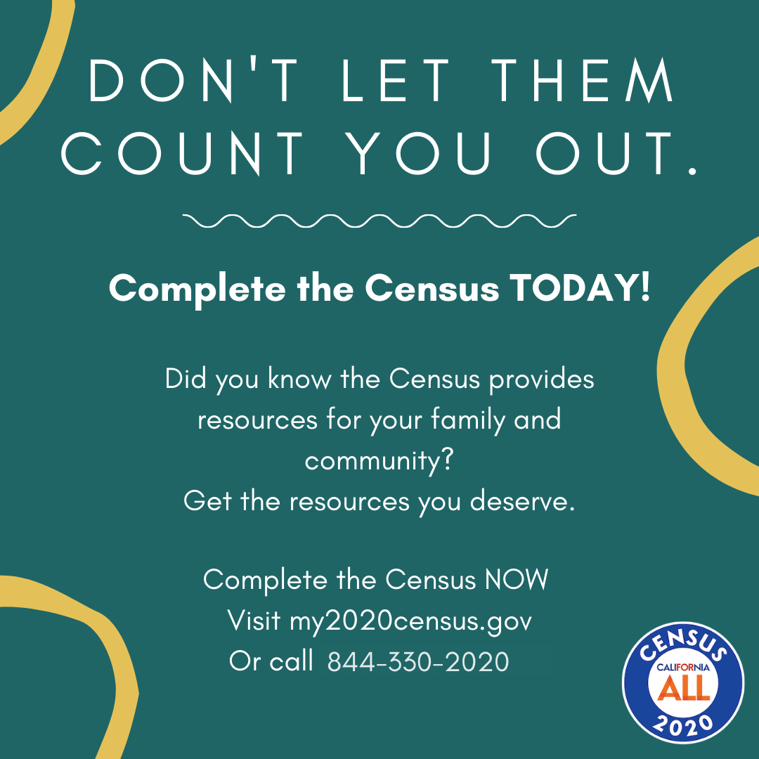 Complete the Census Today