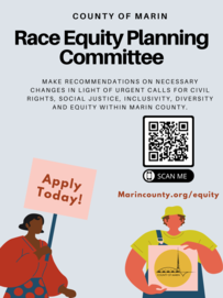 Race Equity Planning Committee flyer