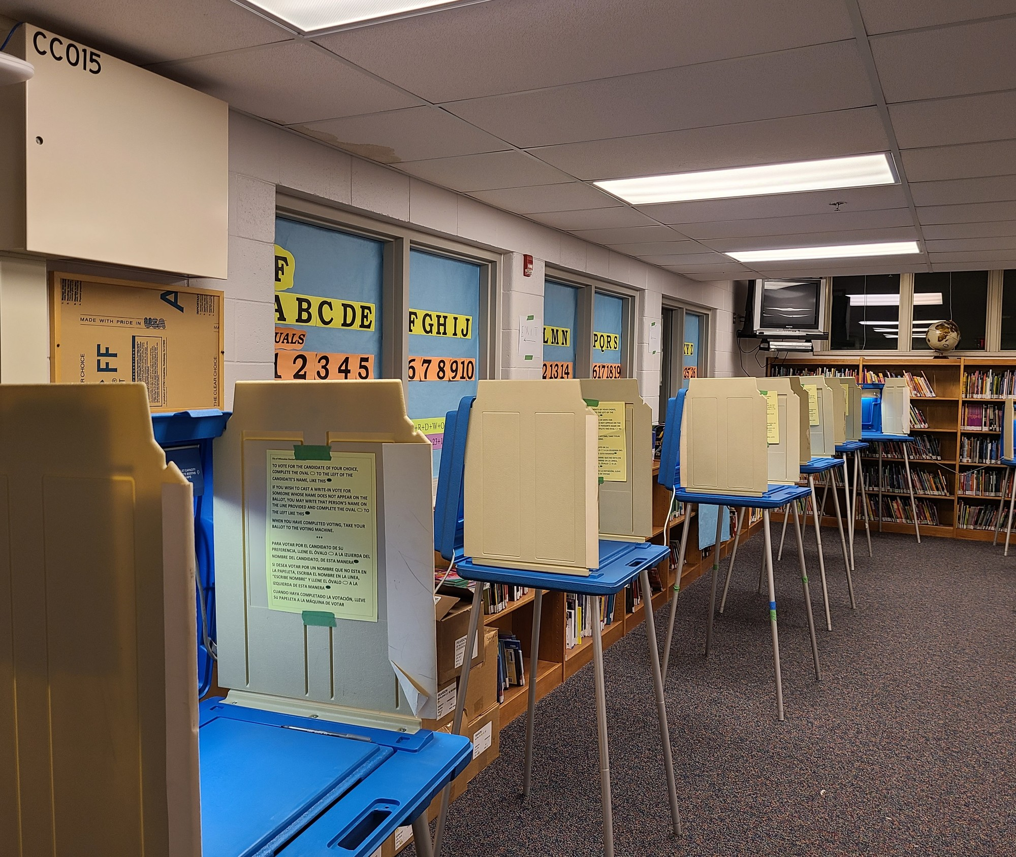 Milwaukee Polling Place
