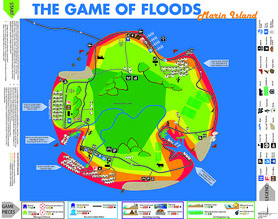 Game of Floods board game