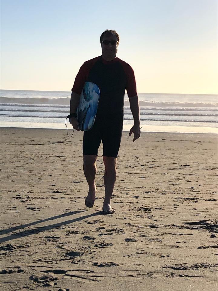 Damon in West Marin