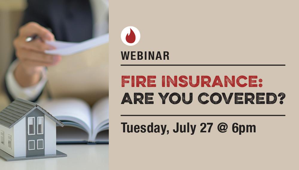 Fire Insurance Webinar