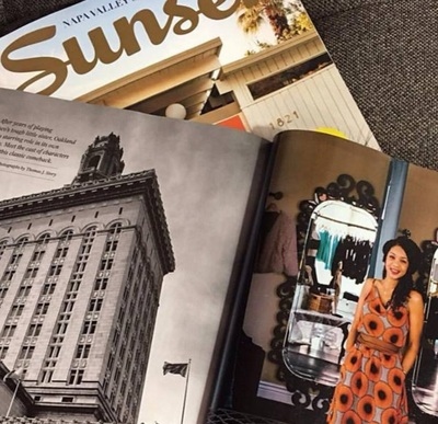 Sunset Magazine photo of Urban Stitch Boutique