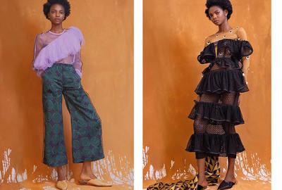 McMullen fashion images Nigerian designer