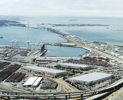 Oakland Global Trade and Logistics hub