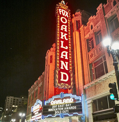 Fox Theater at East Bay Innovation Awards NIght
