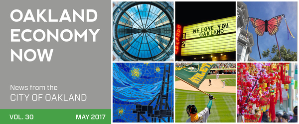 Oakland Economy NOw Masthead May 2017 Volume 30