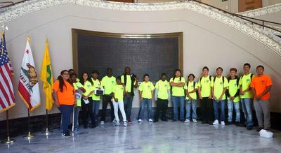 City Hall Interns Earn & Learn