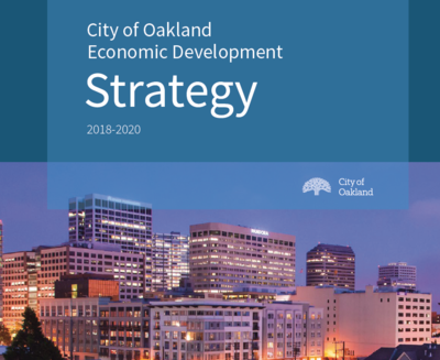 Economic Development Strategy Cover image of City of Oakland